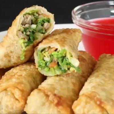 فیلم طرز تهیه پیراشکی گوشت و سبزیجات به عنوان  پیش غذا