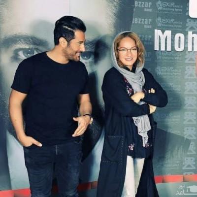 ابراز عشق علنی محمدرضا گلزار به مهناز افشار بعد از طلاق جنجالی از یاسین رامین