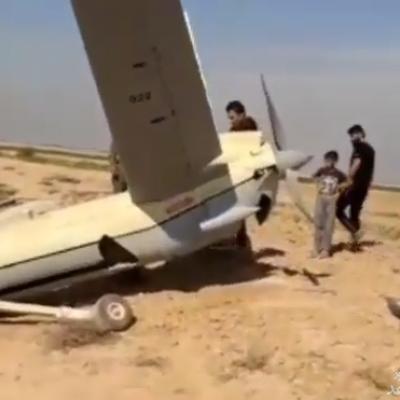 (فیلم) ادعای سقوط یک پهپاد در اطراف خوزستان