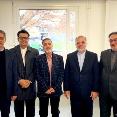 دکتر مسعود سلیمانی آزاد شد +عکس