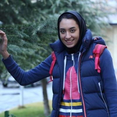 کشف حجاب کیمیا علیزاده در یادبود کشتهشدگان ۷۳۷