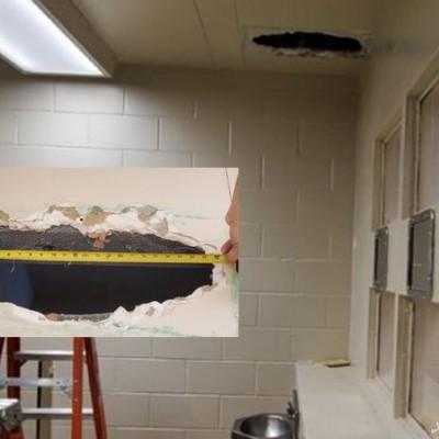 فرار 2 زندانی با کندن تونل در توالت!