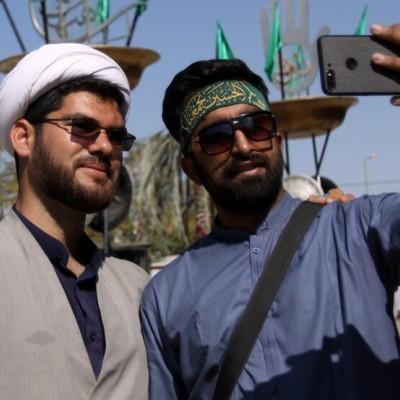 پوزخند زائران ایرانی به تهدید تکفیری ها