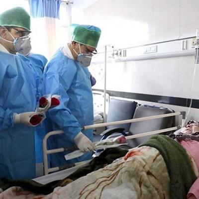 تصاویرِ عیادت جهانگیری از بیماران مبتلا به کرونا