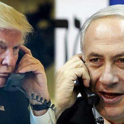 گفتگوی تلفنی ترامپ و نتانیاهو درباره ایران