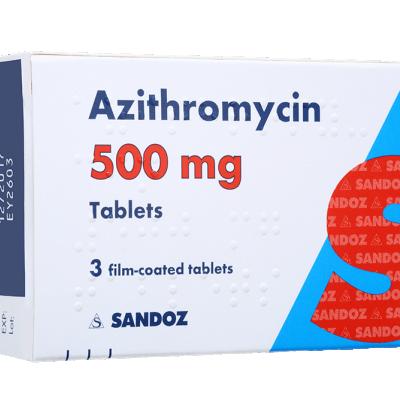 میزان و طریقه مصرف قرص آزیترومایسین