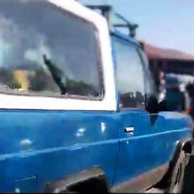 (فیلم) اعترافات راننده پاترول آبی تبریز که مامور پلیس را زیر گرفت