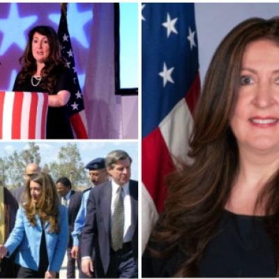 یک زن کُرد، سفیر آمریکا شد