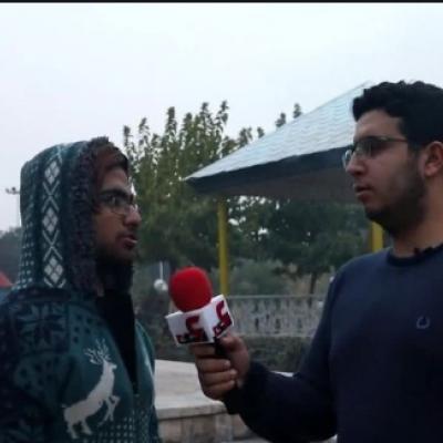 (فیلم) پسر نوجوان پارک خوابی که حافظ کل قرآن است