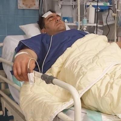 آخرین وضعیت رامین فرج نژاد/ قویترین مرد ایران هدف گلوله قرار گرفت