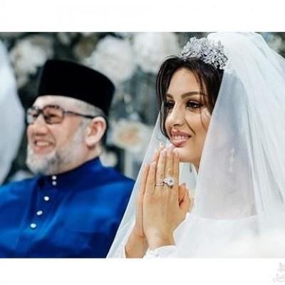 راز طلاق ملکه زیبایی روس از پادشاه مالزی برملا شد