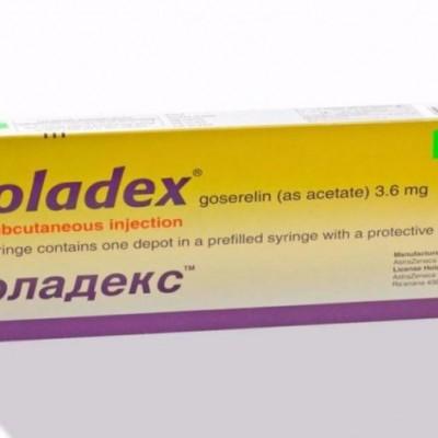 میزان و نحوه مصرف داروی زولادکس