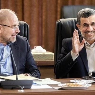 احمدینژاد لیدر جریان سوم میشود یا قالیباف؟