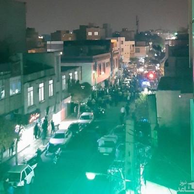 (فیلم) روایت شاهدان عینی از تیراندازی در افسریه تهران