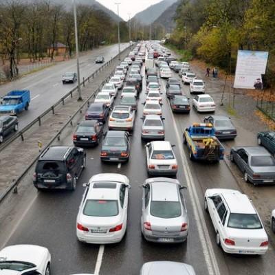 جادههای هراز و چالوس بعدازظهر امروز یکطرفه میشوند