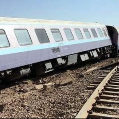 قطار بندرعباس به تهران از ریل خارج شد