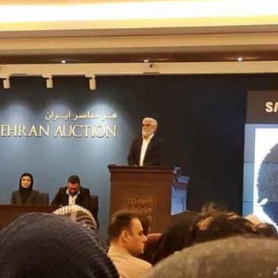 ماجرای فروش تابلوی میلیاردی در تهران + عکس