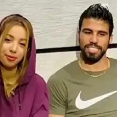 چالش جالب علی دشتی و همسرش در قرنطینه