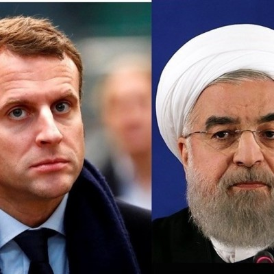 روحانی در تماس تلفنی مکرون: مذاکره با آمریکا در شرایط تحریم معنا و مفهومی ندارد