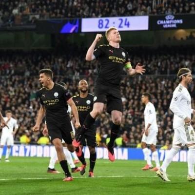 سیتی با شکست رئال مادرید به صعود نزدیک شد