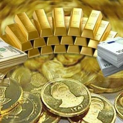 آخرین قیمت طلا، قیمت سکه و قیمت ارز امروز 97/7/23