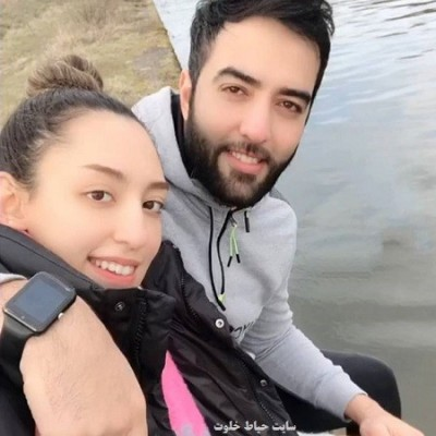 کیمیا علیزاده و همسرش در باشگاه ورزشی