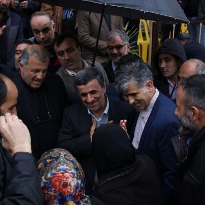 (عکس) چهره متفاوت اسفندیار رحیم مشایی