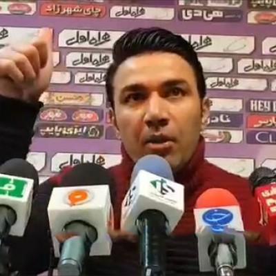 (فیلم) تمسخر اداهای منصوریان توسط جوادنکونام/ مگر تیر خوردید؟