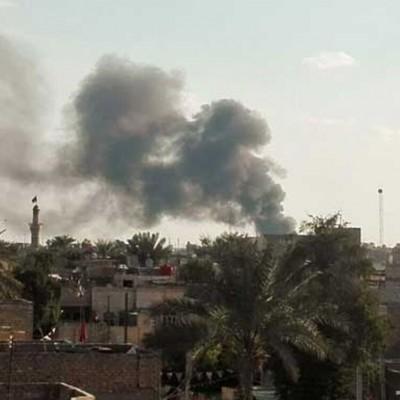 اصابت چند راکت به نزدیکی سفارت آمریکا در بغداد