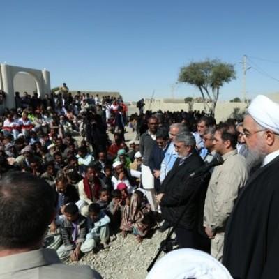 روحانی: در کنار مردم سیلزده سیستان و بلوچستان هستیم