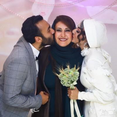 تصاویری از مراسم ازدواج پسر فاطمه گودرزی با دریا مرادیدشت