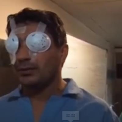 (فیلم) تصاویر تلخ از آسیب دیدگان حوادث بنزینی در بیمارستان