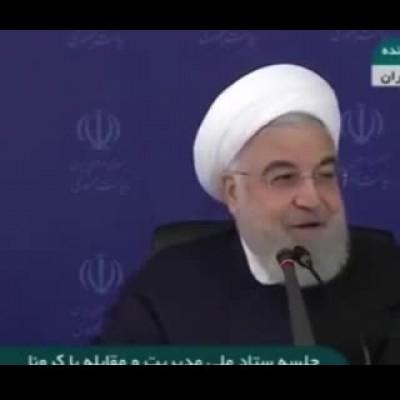 (فیلم) درخواست روحانی از مردم درباره روز ۱۳فروردین