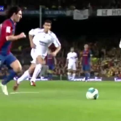 (فیلم) درچنین روزی؛ اولین هتریک لیونل مسی در برابر رئال مادرید