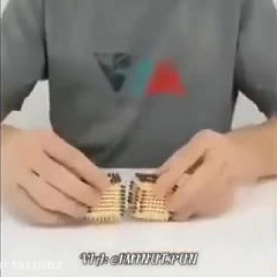 (فیلم) جالب از ساخت ماشین با چوبکبریت!