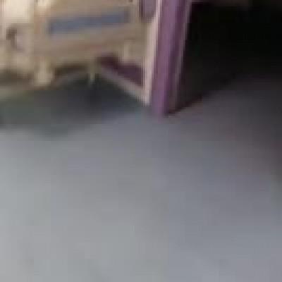 ویدئویی از بیمارستان فرقانی قم، پس از تخلیه