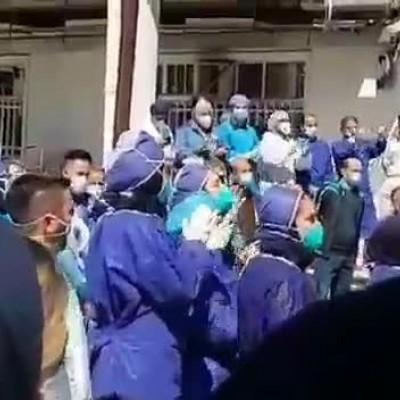 (فیلم) دلیل جشن و پایکوبی در بیمارستان رازی رشت مشخص شد