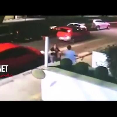 سارقی که در کمتر از یک دقیقه به سزای عملش رسید