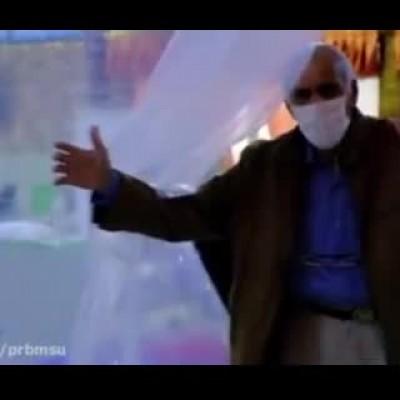 (فیلم) پیرمرد ۷۱ ساله که سابقه شیمیایی و عمل قلب باز دارد، کرونا را شکست داد!