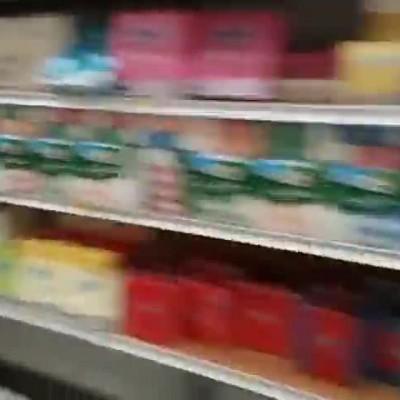 (فیلم) هجوم مردم ایتالیا به فروشگاهها از ترس کرونا