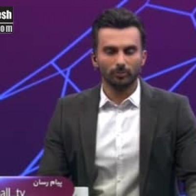 (فیلم) حمله بیسابقه محمدحسین میثاقی به گزارشگر فوتبال تبریز!